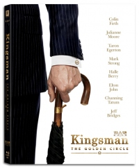 [Blu-ray] Kingsman: The Golden Circle Fullslip Steelbook Limited Edition