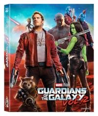 [Blu-ray] Guardians of the Galaxy Vol. 2 (2Disc: 2D+3D) Lenticular Fullslip Steelbook LE