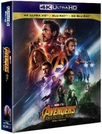 [Blu-ray] Avengers: Infinity War 4K UHD(3Disc:4K UHD+3D+2D) Steelbook Lmited Edition