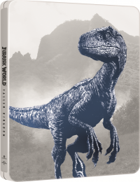 [Blu-ray] Jurassic World: Fallen Kingdom 4K UHD (3Disc: 4K UHD+3D+2D) Steelbook Limited Edition