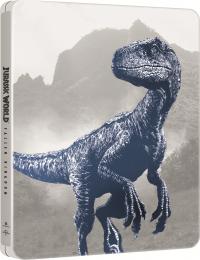 [Blu-ray] Jurassic World: Fallen Kingdom 4K UHD (3Disc: 4K UHD+3D+2D) Steelbook Limited Edition