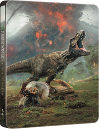 [Blu-ray] Jurassic World: Fallen Kingdom (2Disc: 3D+2D)  Steelbook Limited Edition