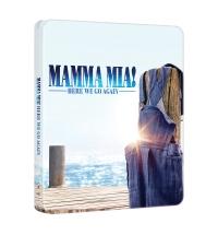 [Blu-ray] Mamma Mia! Here We Go Again (2Disc: 2D+ Bonus DVD) Steelbook Limited Edition