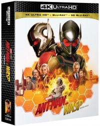 [Blu-ray] Ant-Man and the Wasp 4K UHD(4Disc: 4K UHD + 2D + 3D) Fullslip Steelbook Limited Edition