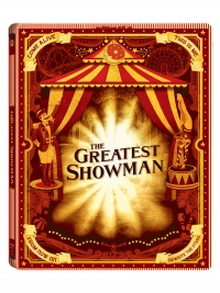 [Blu-ray] The Greatest Showman (2Disc: BD+DVD) Steelbook Limited Edition