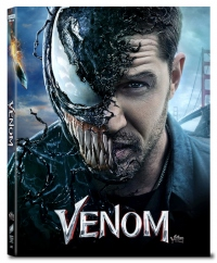 [Blu-ray] Venom Fullslip(3Disc: 4K UHD+2D+Bonus Disc) Steelbook LE(Weetcollcection Collection No.07)