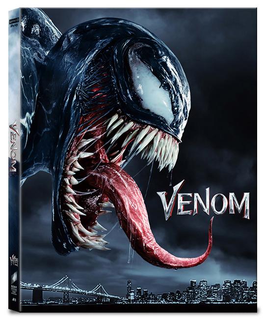 [Blu-ray] Venom Lenticular(3Disc: 4K UHD+2D+Bonus Disc)(O-ring) Steelbook LE(Weetcollcection Collection No.07)