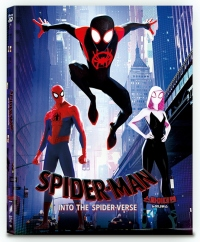 [Blu-ray] Spider-Man : Into the Spider-Verse C Type Fullslip(2Disc: 3D+2D) Steelbook LE(Weetcollcection Collection No.10)