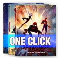[Blu-ray] Spider-Man : Into the Spider-Verse One Click Steelbook Limited Edition(Weetcollcection Collection No.10)