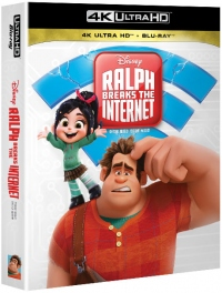 [Blu-ray] Ralph Breaks the Internet Fullslip(2Disc: 4K UHD+2D) Steelbook LE