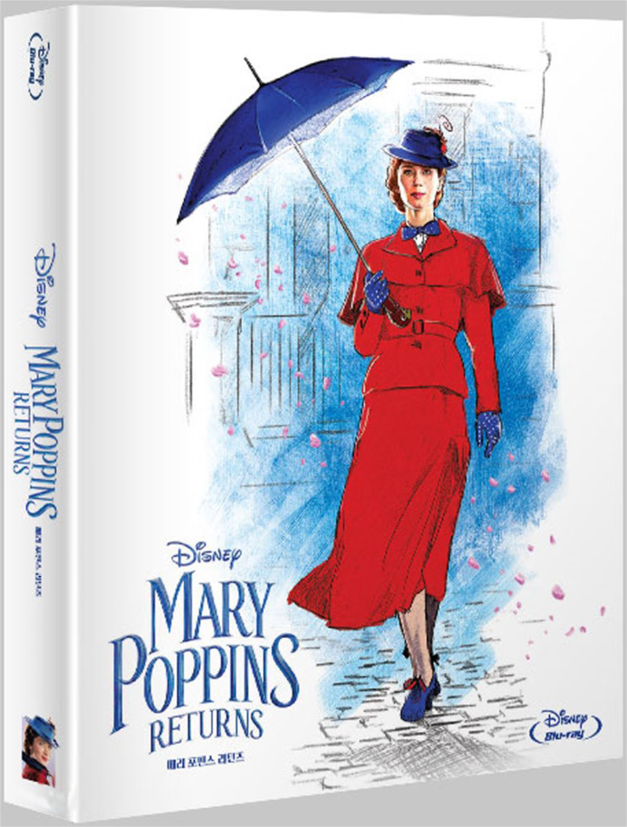 [Blu-ray] Mary Poppins Returns Steelbook Limited Edition.