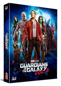 [Blu-ray] Guardians of the Galaxy Vol. 2 Fullslip A2(2Disc: 3D+2D) Steelbook LE(Weetcollcection Exclusive No.2)