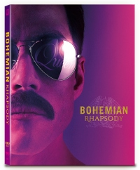 [Blu-ray] Bohemian Rhapsody B Type Lenticular(2Disc: 4K UHD+2D)(O-ring) Steelbook LE(weetcollection Collection No.11)