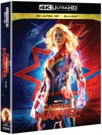 [Blu-ray] Captain Marvel Fullslip(2Disc: 4K UHD+2D) Steelbook Limited Edition