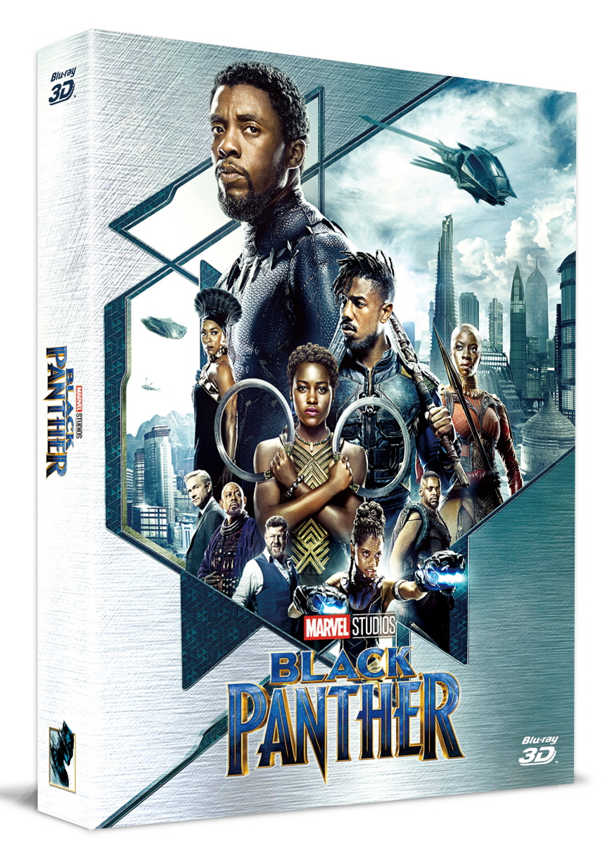 [Blu-ray] Black Panther Fullslip A2(2Disc: 3D+2D) Steelbook LE(Weetcollcection Exclusive No.3)