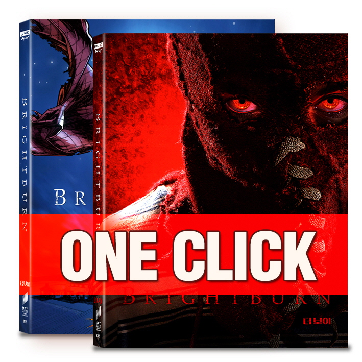 [Blu-ray] Brightburn One Click Steelbook Limited Edition(Weetcollcection Collection No.12)