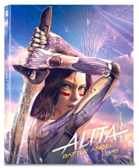 [Blu-ray] Alita: Battle Angel A1 Type Fullslip(3disc: 4K UHD + 3D + 2D) Steelbook LE(Weetcollcection Collection No.13)