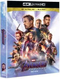 [Blu-ray] Avengers: Endgame Fullslip(3Disc: 4K UHD+2D+Bonus Disc) Steelbook LE
