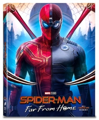 [Blu-ray] Spider-Man: Far From Home A3 Type Fullslip(3disc: 3D + 2D + Bonus Disc)) Steelbook LE(Weetcollcection Collection No.15)