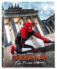 [Blu-ray] Spider-Man: Far From Home B Type Lenticular(4disc: 4K UHD + 3D + 2D + Bonus Disc) (O-ring) Steelbook LE(Weetcollcection Collection No.15)