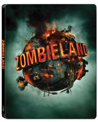 [Blu-ray] Zombieland 4K UHD(2disc: 4K UHD + BD) Steelbook Limited Edition