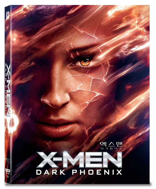 [Blu-ray] X-Men: Dark Pheonix A Type Fullslip(2disc: 4K UHD+2D) Steelbook LE(Weetcollcection Collection No.16)