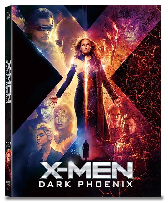 [Blu-ray] X-Men: Dark Pheonix B Type Lenticular(2disc: 4K UHD+2D) (O-ring) Steelbook LE(Weetcollcection Collection No.16)
