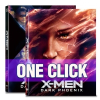 [Blu-ray] X-Men: Dark Pheonix One Click Steelbook Limited Edition(Weetcollcection Collection No.16)