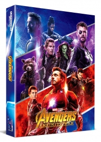 [Blu-ray] Avengers: Infinity War Fullslip A1(3disc: 4K UHD + 3D + 2D) Steelbook LE(Weetcollcection Exclusive No.4)