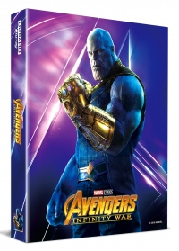 [Blu-ray] Avengers: Infinity War Lenticular Fullslip B1(3disc: 4K UHD + 3D + 2D) Steelbook LE(Weetcollcection Exclusive No.4)