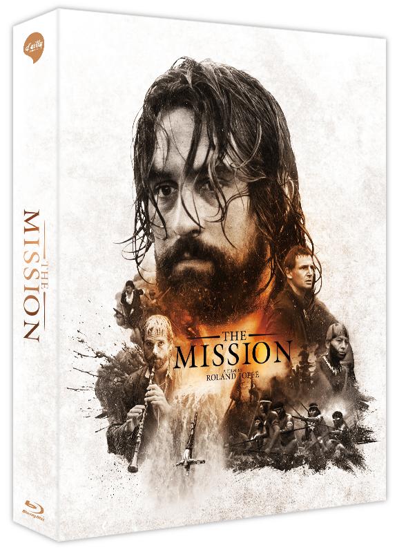 [Blu-ray] The Mission C Type Lenticular Fullslip Steelbook LE