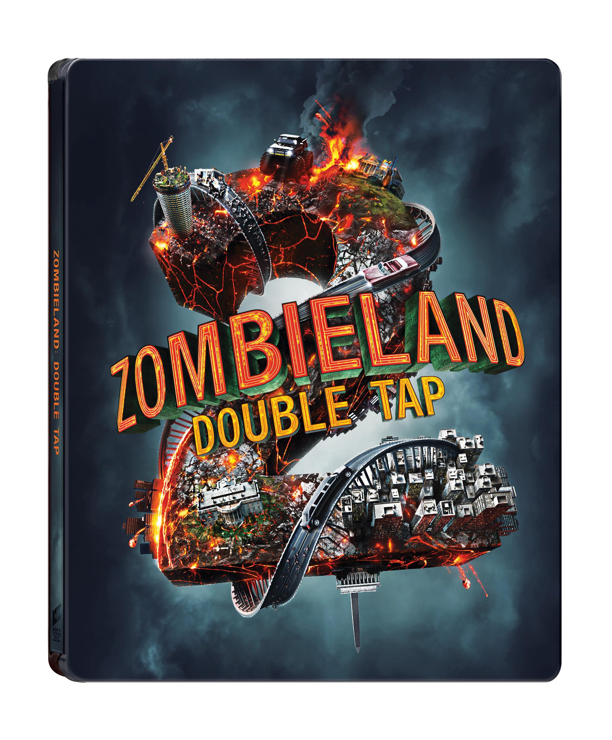 [Blu-ray] Zombieland: Double Tap 4K(2disc: 4K UHD+2D) Steelbook LE
