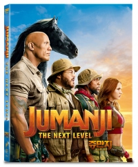 [Blu-ray] Jumanji: The Next Level A Type Fullslip(2disc: 4K UHD+2D) Steelbook LE(Weetcollcection Collection No.18)