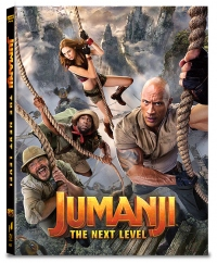 [Blu-ray] Jumanji: The Next Level B Type Lenticular(2disc: 4K UHD+2D)(O-ring) Steelbook LE(Weetcollcection Collection No.18)