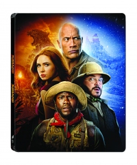 [Blu-ray] Jumanji: Jumanji : Welcome to the Jungle+The Next Level 4K UHD(2Disc) Steelbook LE