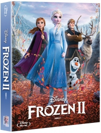 [Blu-ray] Frozen2 (2Disc: BD + OST CD) Fullslip Steelbook LE