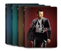 [Blu-ray] The Daniel Craig 007 4K UHD Steelbook LE (4 set)