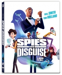 [Blu-ray] Spies In Disguise Fullslip 4K(2disc: 4K UHD+2D) Steelbook LE(Weetcollcection Collection No.20)