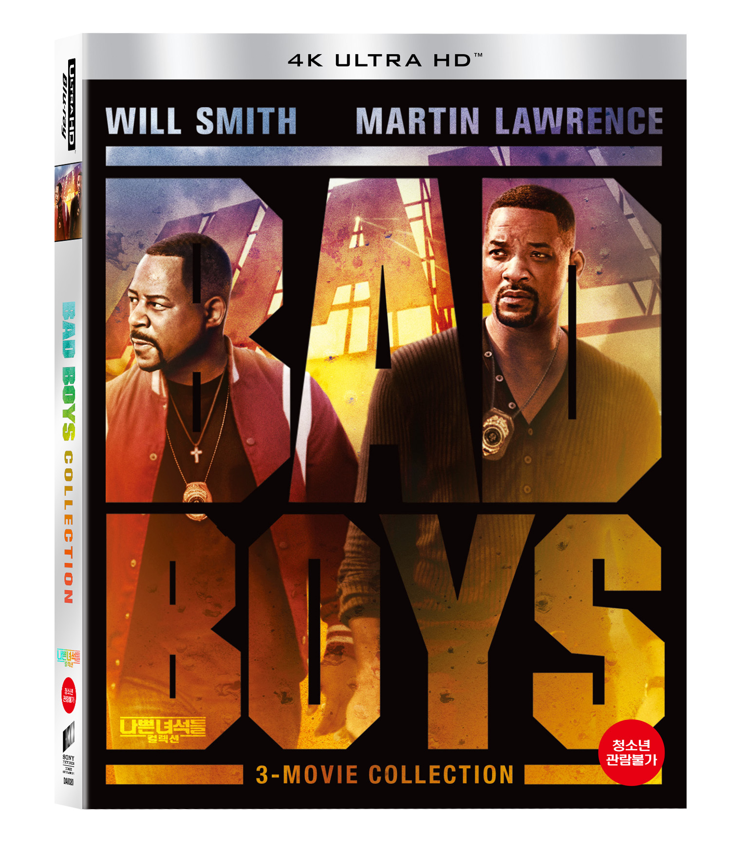 [Blu-ray] Bad Boys Collection 4K UHD(3disc: 3 Movies) Slipcase LE
