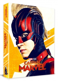 [Blu-ray] Captain Marvel Fullslip A1(2Disc: 4K UHD+2D) Steelbook LE(Weetcollcection Exclusive No.5)
