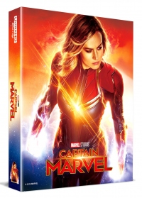 [Blu-ray] Captain Marvel Lenticular Fullslip B(2Disc: 4K UHD+2D) Steelbook LE(Weetcollcection Exclusive No.5)