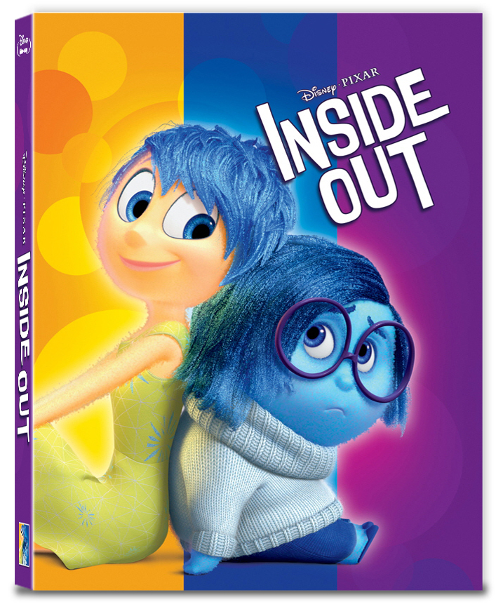 [Blu-ray] Inside Out Fullslip A Type (2disc: 3D+2D) Steelbook LE