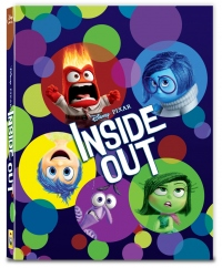 [Blu-ray] Inside Out Fullslip B Type (2disc: 3D+2D) Steelbook LE