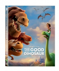 [Blu-ray] The Good Dinosaur Lenticular(Oring Case) (2disc: 3D+2D) Steelbook LE