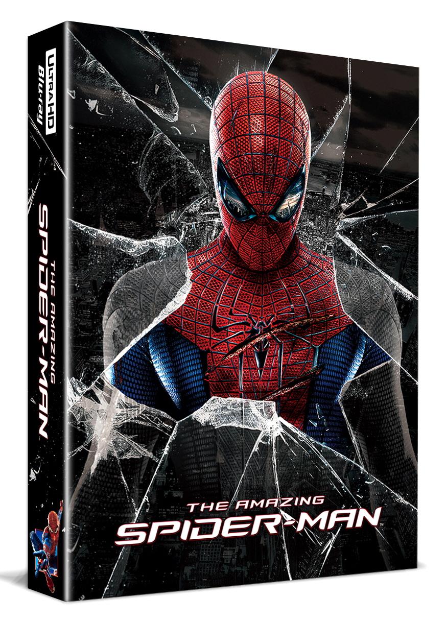 [Blu-ray] The Amazing Spider-Man Lenticular Fullslip(3disc: 4K UHD+BD(2D/3D Double Side)+Bonus Disc) Steelbook LE(Weetcollcection Exclusive No.6)