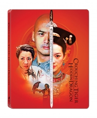 [Blu-ray] Crouching Tiger, Hidden Dragon 4K(2disc: 4K UHD+BD)Steelbook LE