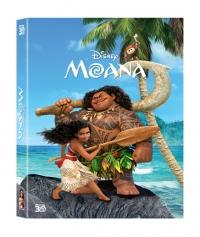 [Blu-ray] Moana Fullslip(2Disc: 3D+BD) Steelbook LE