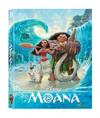 [Blu-ray] Moana Lenticular Fullslip(2Disc: 3D+BD) Steelbook LE