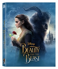 [Blu-ray] Beauty and the Beast Lenticular Fullslip(2Disc: 3D+BD) Steelbook LE(None Petslip)