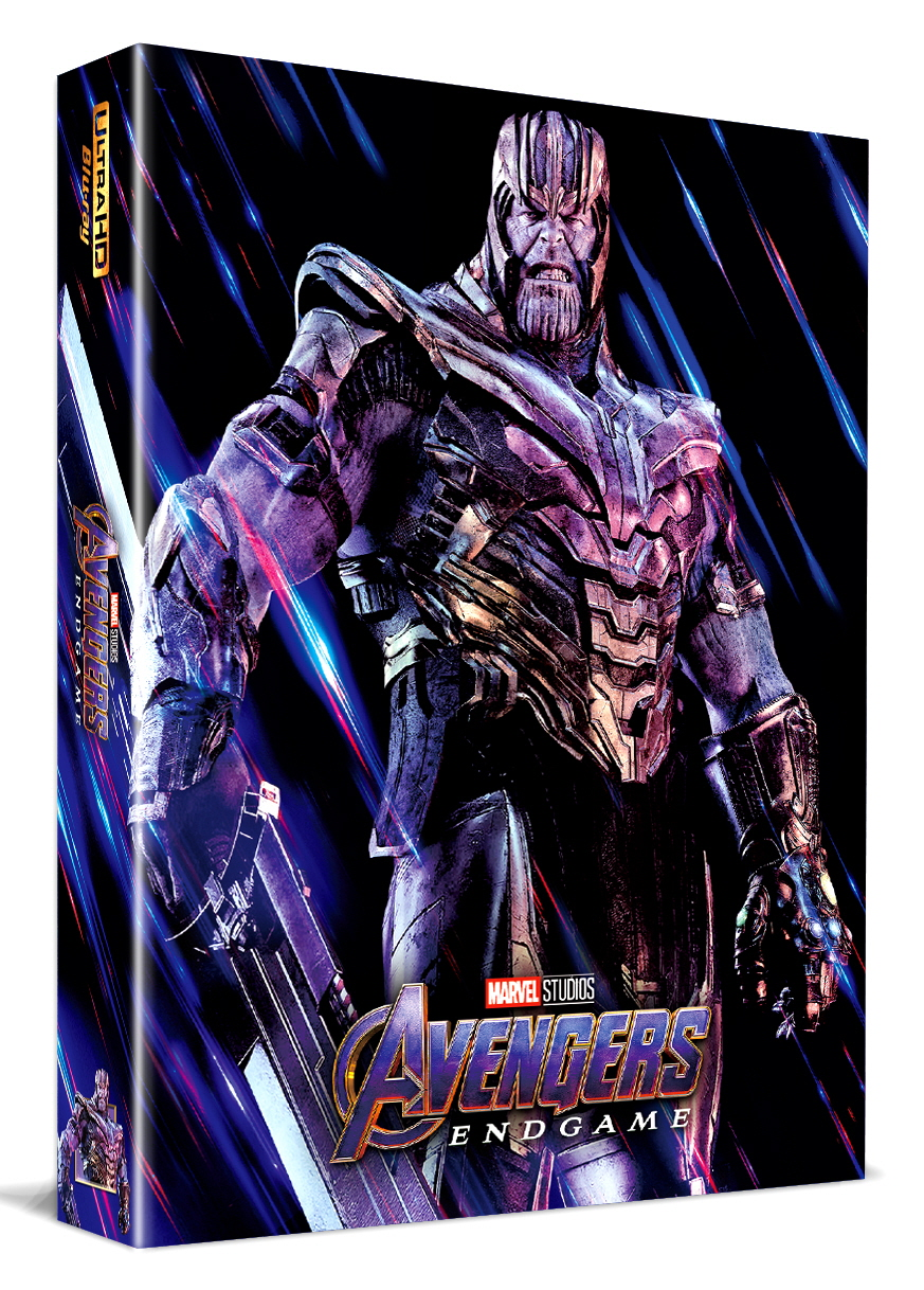[Blu-ray] Avengers: Endgame A1 Fullslip(3Disc: 4K UHD+2D+Bonus Disc) Steelbook LE(Weetcollcection Exclusive No.8)